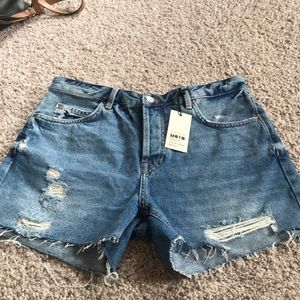 TopShop Ashley Vintage Mid Rise Short
